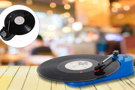 LED LIVE -  Vinyl to MP3 Turntable - Save 56%