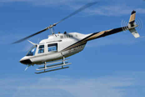 Helicentre Aviation - Thrill Seeking 15 Mile Helicopter Ride for One  - Save 45%