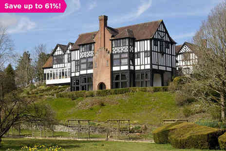 Caer Beris Manor Hotel - One night stay for two with breakfast in the Wye Valley - Save 61%