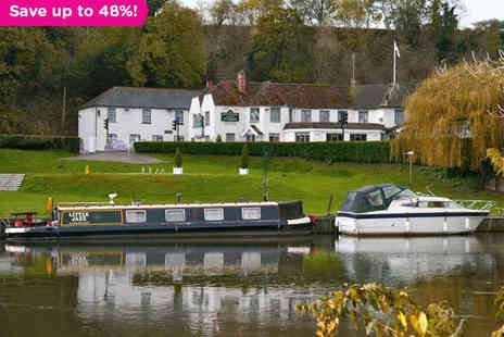 Shillingford Bridge Hotel - One Night Oxfordshire Hotel Stay for Two with Wine on Arrival and Breakfast Daily - Save 48%