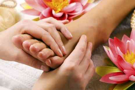 The Duchess Beauty Salon - Luxury Manicure With Pedicure  and Thai Foot Massage - Save 44%