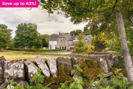 Newton House - Two Night Peak District Stay for Two  - Save 63%