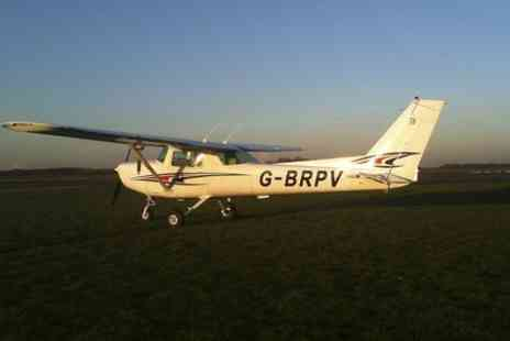 Retford Flying School - One Hour Introductory Flying Lesson  - Save 29%