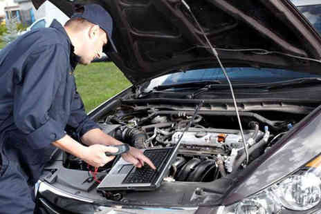 Pitstop Service Station - Full car winter check up with either an MOT test or an engine diagnostics check - Save 72%