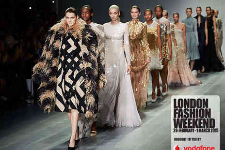 Vodafone London Fashion Weekend - Bronze Day Ticket to Vodafone London Fashion Weekend on February 26, 27, 28 or March 1 - Save 36%