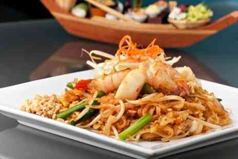 Thai Brasserie - Two Course Lunch or Dinner With Wine  - Save 0%