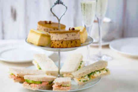 The Carnelly Bar and Lounge - Afternoon Tea with Sparkling Wine for Two  - Save 50%
