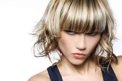 Strandz Hair Salon - Half Head Highlights or Full Head Colour With Cut and Blow Dry - Save 55%