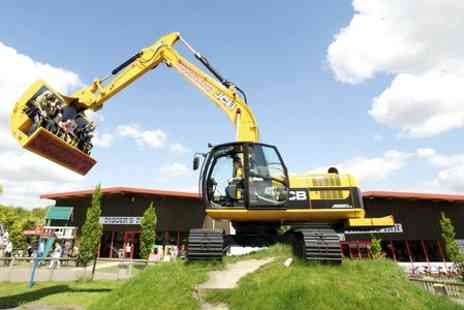 Diggerland - Family Entry  to Diggerland  - Save 37%