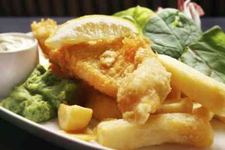 Js Fish Bar & Restaurant - Fish and Chips For Two - Save 50%