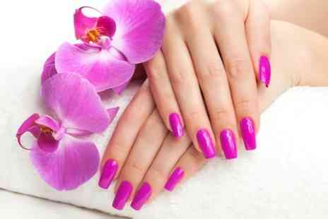 Lime Nails and Beauty - Full Set of Nail Extensions  - Save 60%
