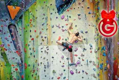 Undercover Rock - Indoor Climbing Session  - Save 47%
