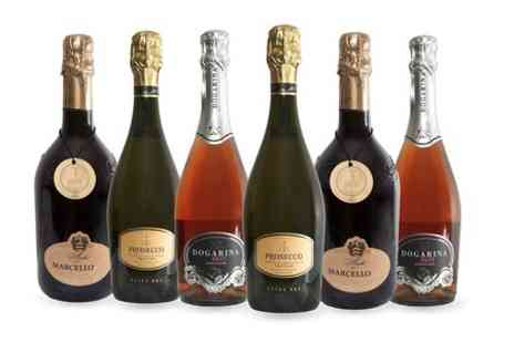 Candleland Catering - Choice of Case of Six Prosecco Bottles - Save 0%