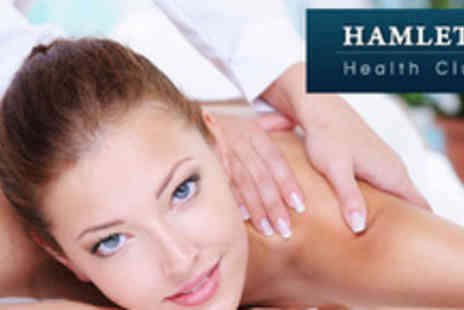 Hamlets Health Club - 1 hour Sports, Deep Tissue or Relaxation Massage - Save 68%