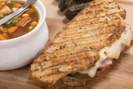 Junction Coffee - Soup and Sandwich for One  - Save 51%