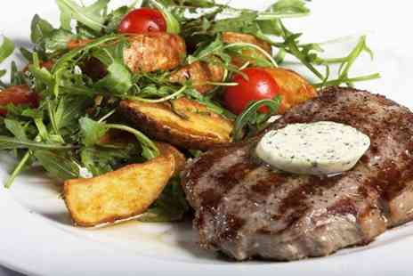 The Ringlestone Inn - Rib Eye Steak Meal For Two - Save 60%