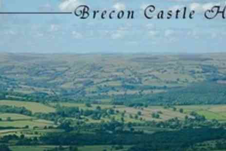 Brecon Castle Hotel - Castle Hotel Stay For Two in  Small Beacons Room - Save 62%