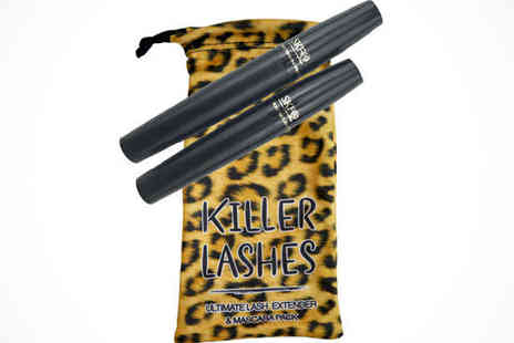 Killer Lashes Extender Set - One Killer Lashes Extender Set - Save 73%