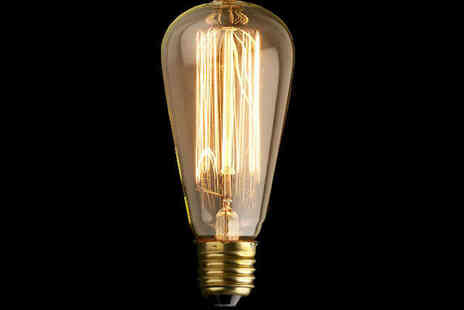 Vintage Light Bulb - Vintage Edison Fit Light Bulb  - Save 0%