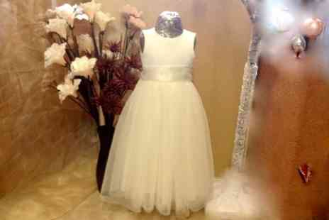 Cameo Brides - £40 to Spend or Handmade Flower Girl Dress  - Save 50%