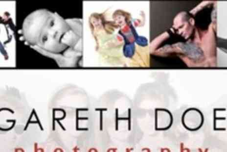 Gareth Doe Photography - Studio or Location Photo Shoot With Art Block, Two Prints and DVD - Save 93%