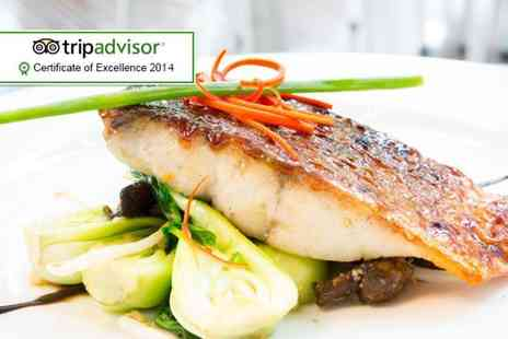 Colourworks Restaurant - Three course meal for two inclujding a coffee each - Save 53%