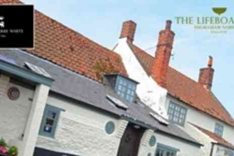 The Lifeboat Inn - One Night Break For Two With Three Course Meal On First Night and Full English Breakfast - Save 56%
