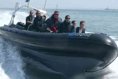 SeaDogz - Incredible RIB boat ride along the Solent  - Save 60%