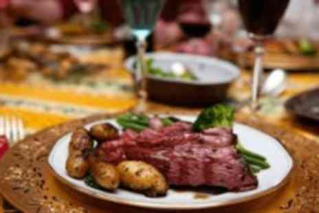 The Bentley Hotel - Three course Sunday meal for Two, with wine, beer or soft drinks - Save 0%