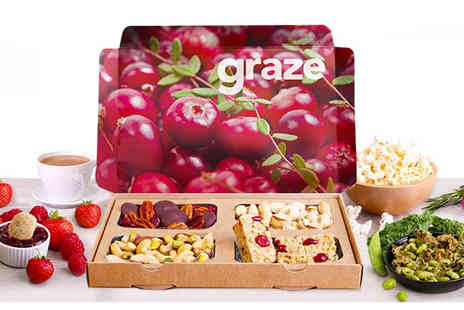 graze - Sign up to Graze with 3 snack boxes - Save 60%