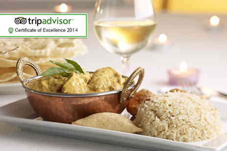 Punjab Tandoori - Indian meal for Two including glass of wine each  - Save 60%