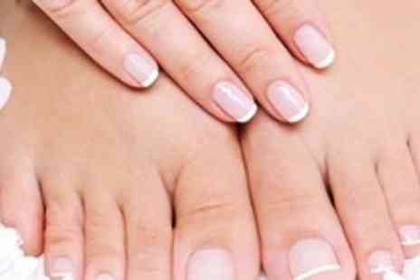 M & K Hair and Beauty - Luxury Manicure and Pedicure - Save 58%