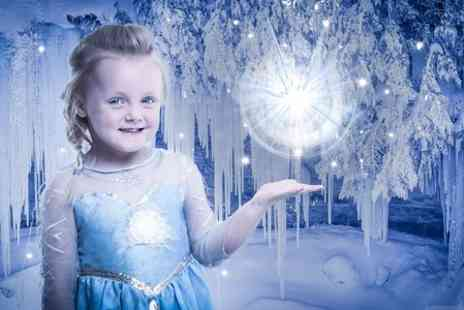 J. Photographers North East - Ice Princess Photoshoot With Prints For Up to Two - Save 0%