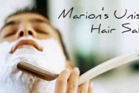 Marions Unisex Hair Salon - Male Pampering Session - Save 60%