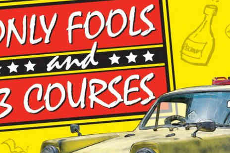 The Langstone Hotel - Only Fools and Three Courses Night for two - Save 40%