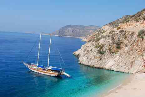 Turkish and Greek Cruise - Set sail to explore Turkey and Greece by yacht for a week with full board and return flight - Save 38%