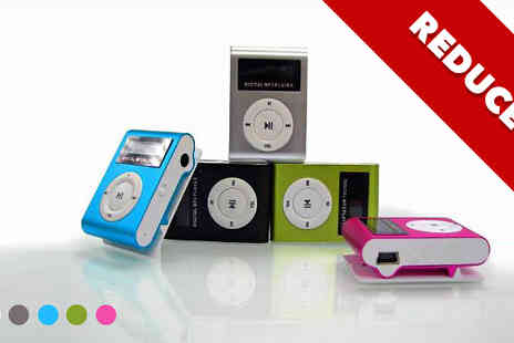 Zip Gadgets - Shuffling LCD MP3 Player - Save 84%