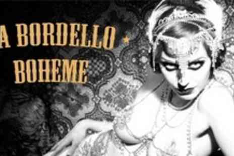 La Bordello Boheme - Two Tickets to Cabaret, Variety and Burlesque - Save 60%