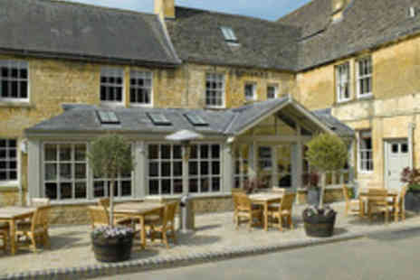 Noel Arms Hotel - One night stay Cotswolds Inn Escape for Two - Save 45%