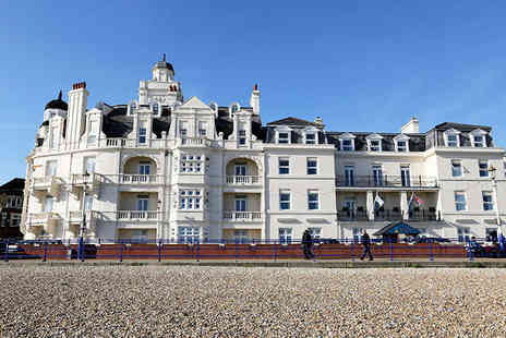 Shore View Hotel - One Night Eastbourne Hotel Stay for Two with Bottle of Wine on Arrival and Daily Breakfast - Save 49%