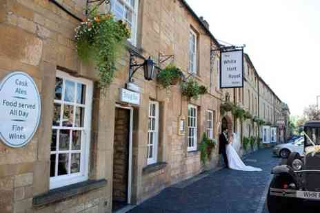 The White Hart Royal Hotel - Wedding Package For 50 Day and 80 Evening Guests - Save 50%