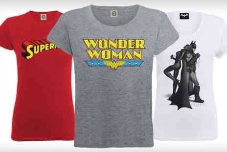 Printed Wardrobe - DC Comics Superhero T's and Sweatshirts  - Save 45%