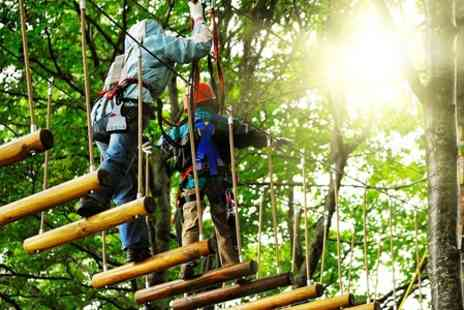 Rope Runners - High Ropes Experience For Two - Save 63%