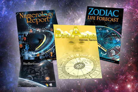 Stellar Astrology - 3 in 1 Astrology Life Forecast - Save 89%