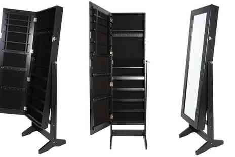 SODAMIX - Mirrored Jewellery Cabinet - Save 60%