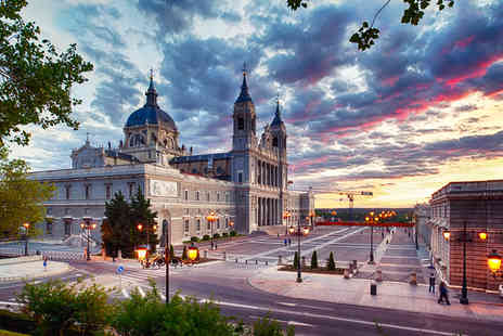 Flights and Fly - Two night stay in Madrid including flights & breakfast - Save 38%