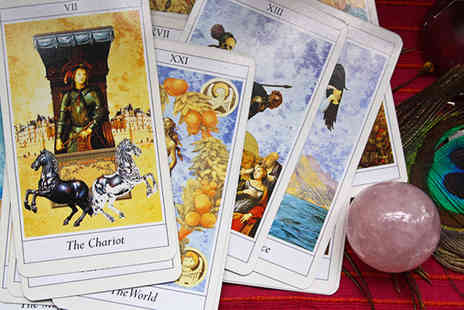 Mystic Veritas Prestige Psychic - 20 minute personalised video tarot reading  - Save 56%