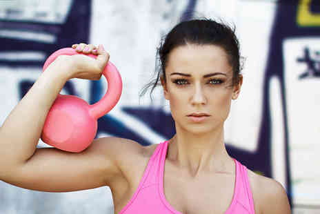 JP Personal Training - One hour Kettlercise fat burning workout classes - Save 82%