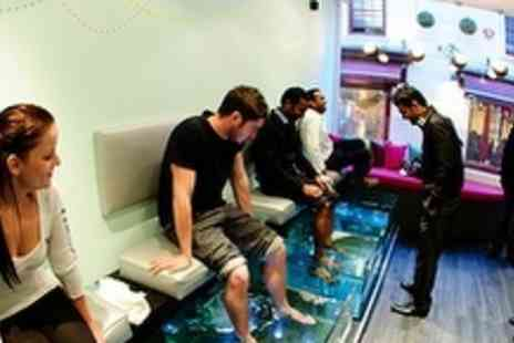 Asase Spa - Fish Pedicure with Refreshments - Save 52%