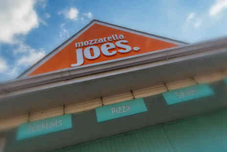 Mozzarella Joes - Two pizzas for two  - Save 50%